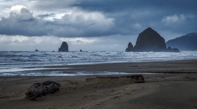 Solitary Peace, Cannon Beach, Oregon, United States of America