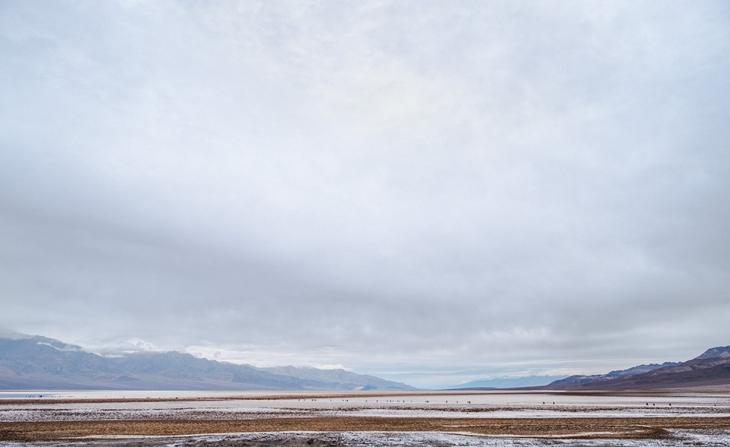 The Trek to Bad Water, Badwater Basin, Death Valley National Park, California, United States of America II