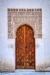 This Door, Palacios Nazaries, The Alhambra, Granada, Spain