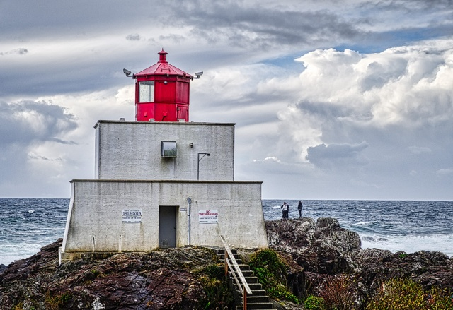 Called to the Sea, Amphitrite Point, Wild Pacific Trail, Ucluelet, Vancouver Island, British Columbia, Canada