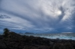 Cloudy, Cloudy Day, Amphitrite Point, Ucluelet, Vancouver Island, British Columbia, Canada