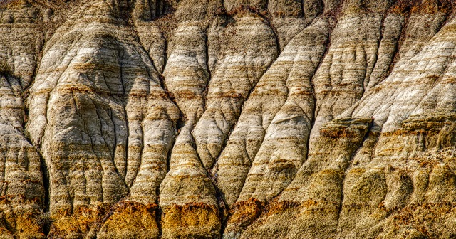 Crosscurrents, Badlands, Drumheller, Alberta, Canada