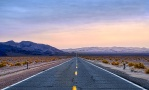 Desert Highway, Highway 127, Death Valley Road, Dumont Little Dunes, California, United States of America