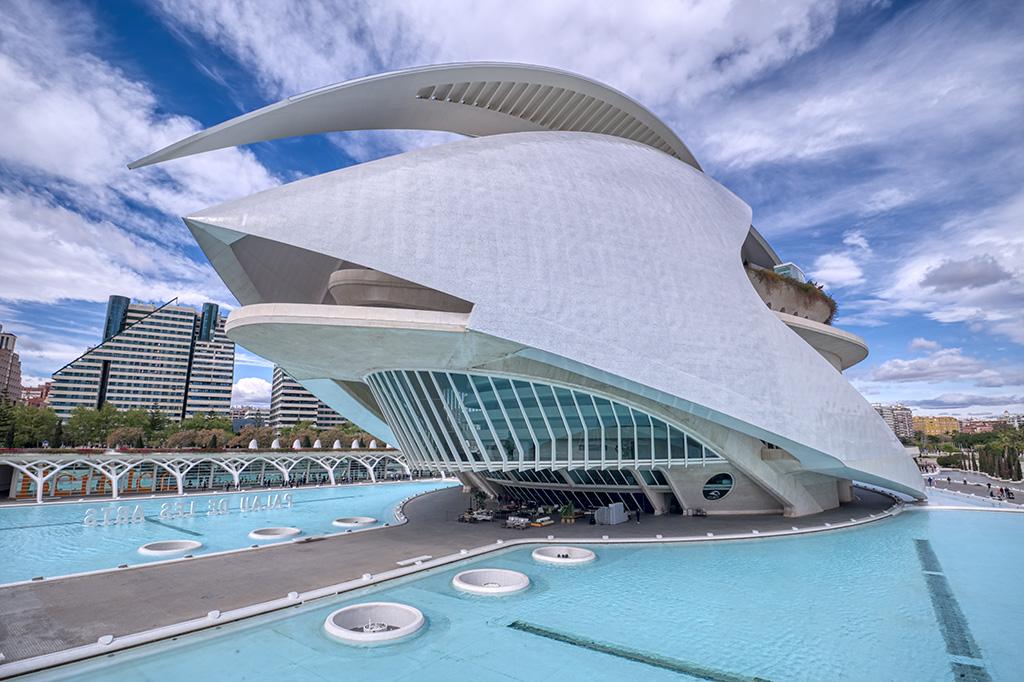 Form Throws Function on its Head, Palau de les Arts Reina Sofia, Ciutat De Les Arts I Les Ciences, Valencia, Spain