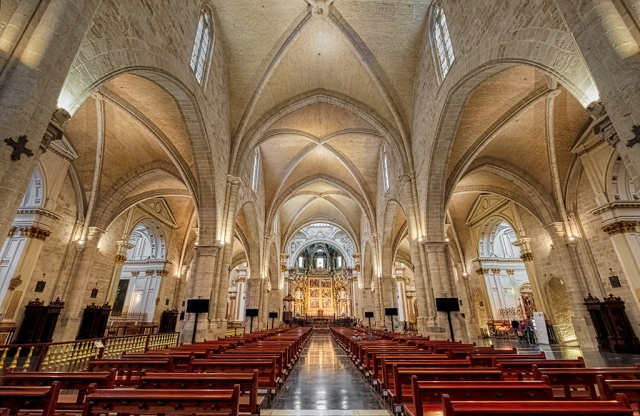 Gods House, Metropolitan Cathedral–Basilica of the Assumption of Our Lady of Valencia, Valencia, Spain