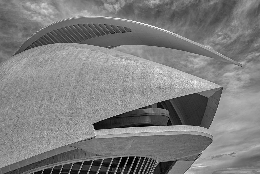 Line and Texture, Palau De Les Arts, Ciutat De Les Arts I Les Ciences, Valencia, Spain