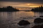Narrow Passage, Food Islets, Near Ucluelet, Vancouver Island, British Columbia, Canada
