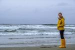 Turned Away, Long Beach, Pacific Rim National Reserve, Tofino, Vancouver Island, British Columbia, Canada