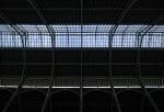 What Light through Yonder Skyline Breaks, Central Market, Valencia, Catalonia, Spain