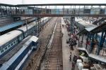 Beautiful Scene, New Delhi Railway Station, New Delhi, India