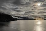 Beneath a Virtual Moon, Howe Sound, Sea to Sky Highway, British Columbia, Canada