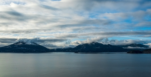 Slate Sea, Howe Sound, Sea to Sky Highway, British Columbia, Canada