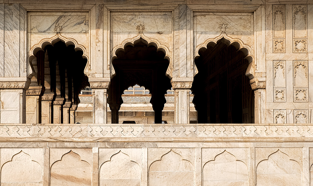 A Study of Line, Diwan-i-Am, Hall of Audience, Agra Fort, Agra, Uttar Pradesh, India