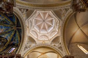 Dome of Light, Valencia Cathedral, Valencia, Spain