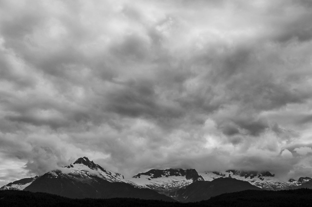 Tantalus Mountain Range, Sea to Sky Highway, Near Squamish, British Columbia, Canada