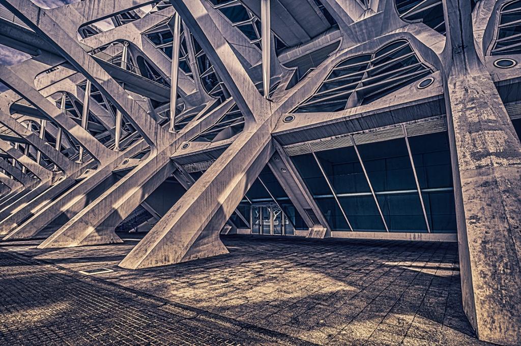 From the Chaos Rise, Ciutat de les Arts i les Ciències, Valencia, Spain