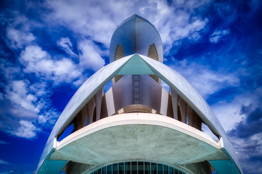 The Maw, Palau De Les Arts, Ciutat De Les Arts I Les Ciences, Valencia, Spain