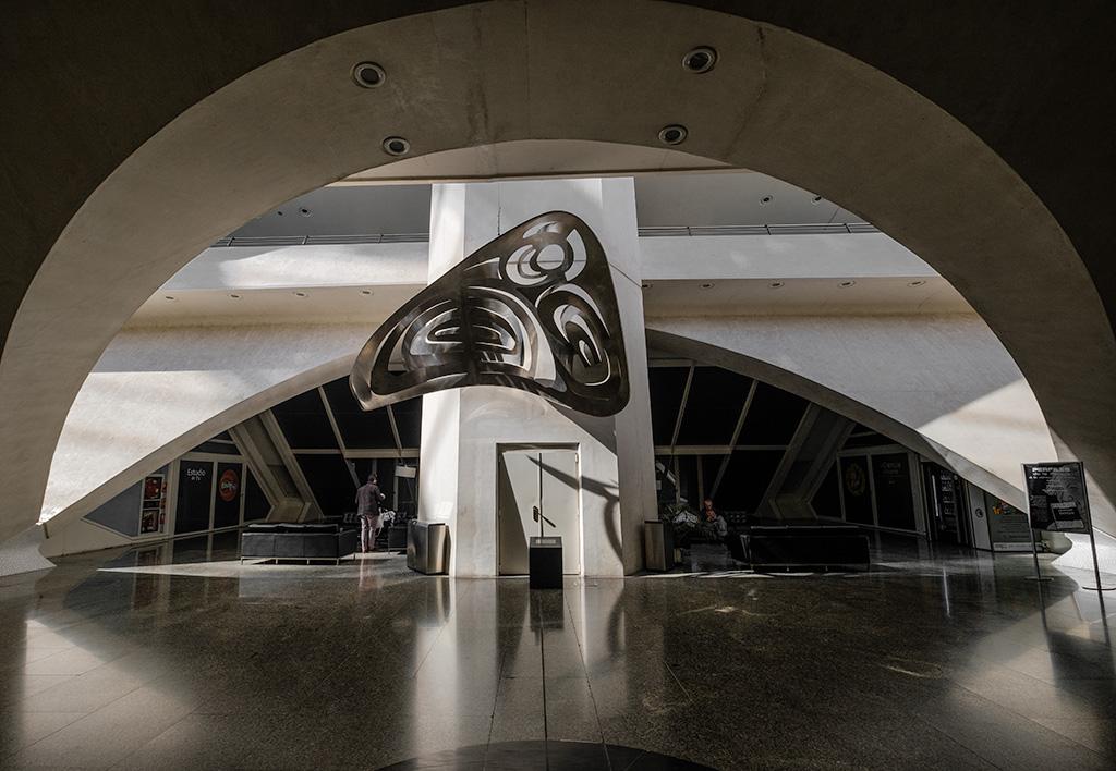 Alcoves, El Museu de les Ciències Príncipe Felipe, Valencia, Spain