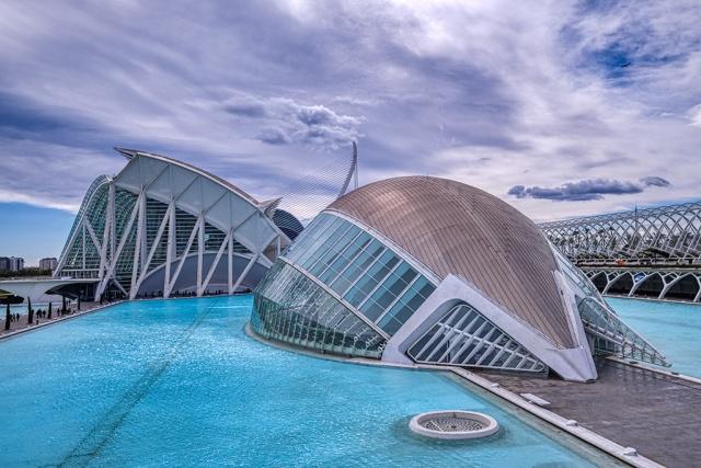 Anachronism, Ciutat de les Arts i les Ciències, Valencia, Spain