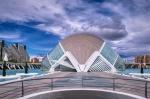 Fluttering Eyelash, Ciutat De Les Arts I Les Ciences, Valencia, Spain