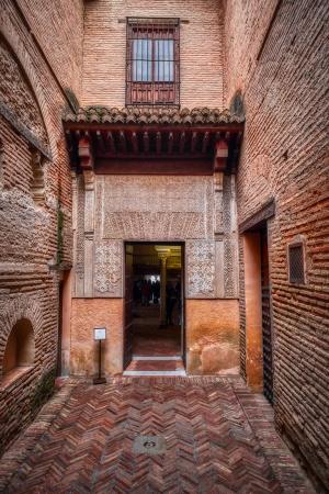 Opening, Plaza de Nazaríes, The Alhambra, Granada, Spain