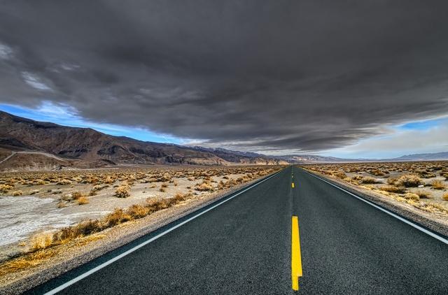 Cloud Cover, Dolomite, California State Road 136, California, United States of America