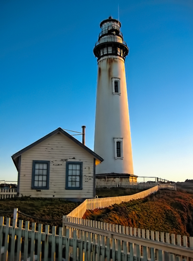 Pigeon Point Lighthouse, near Santa Cruz, California, United States of America