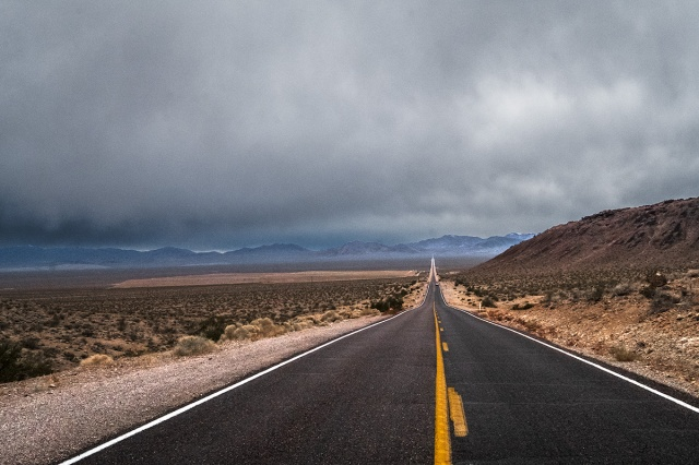 Beckoning Highway, State Road 374, Beatty, Nevada, United States of America