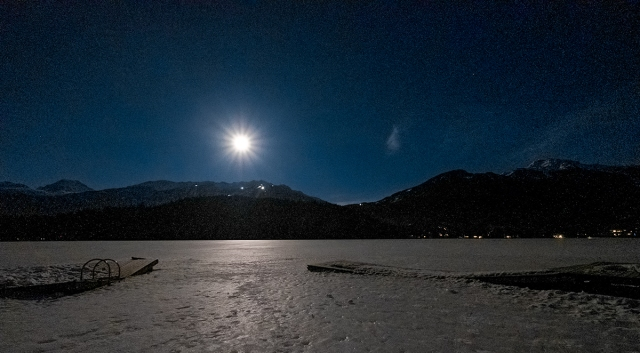 Moonrise Over Blackcomb II, Alta Lake, Whistler, British Columbia, Canada