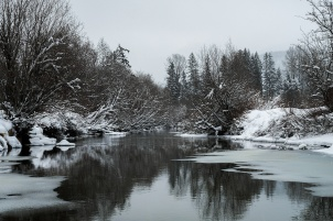 Winter is Here, River of Golden Dreams, Whistler, British Columbia, Canada
