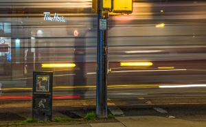 The Bus, Denman & Nelson, Vancouver, British Columbia, Canada