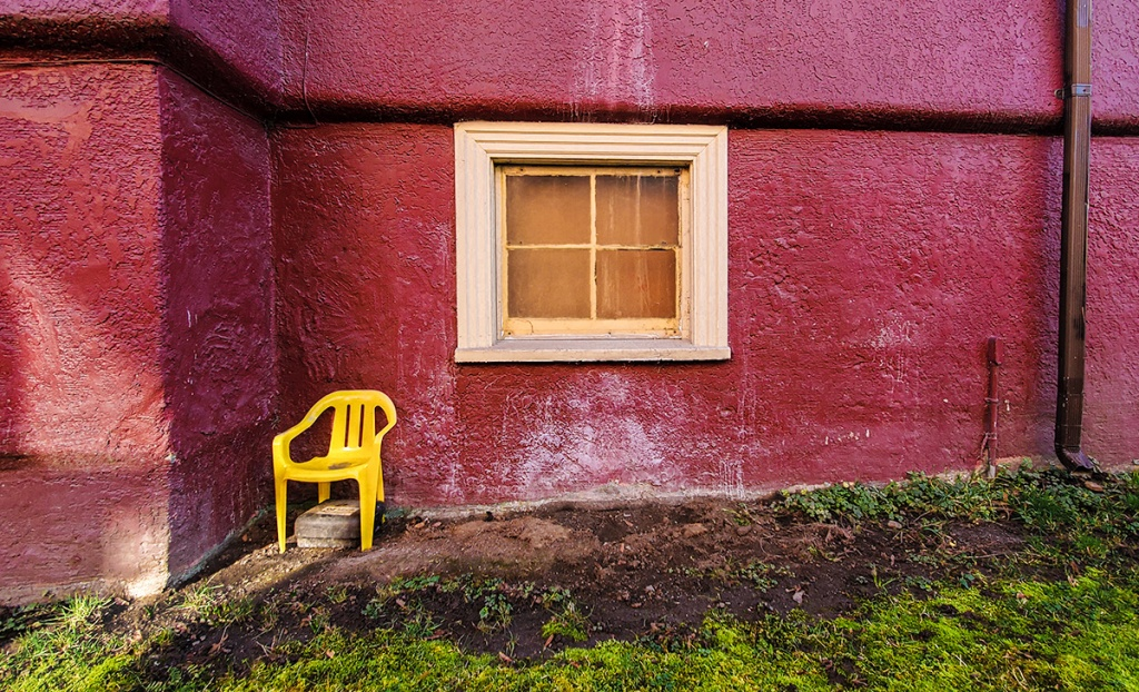 Yellow Chair, Vancouver, British Columbia, Canada