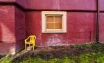 Yellow Chair, Vancouver, British Columbia, Canada