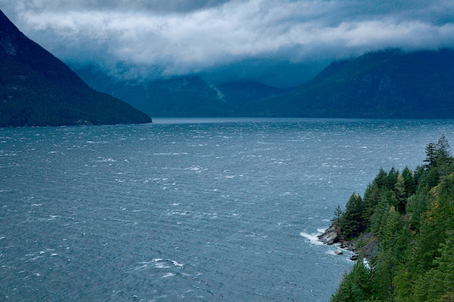 Angry Sound, Howe Sound, Sea to Sky Highway, British Columbia, Canada
