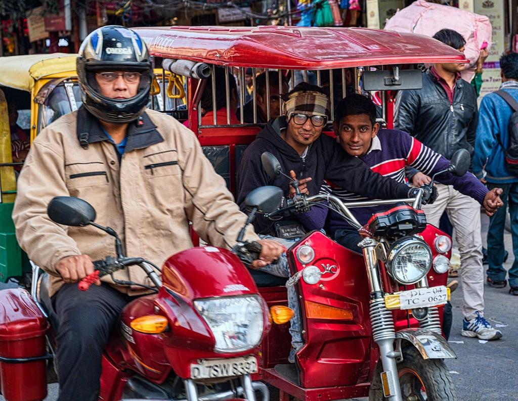 Look at me, Chandni Chowk, New Delhi, India