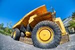 Big Wheel, Mining Truck, Britannia Mine Museum, Britannia Beach, British Columbia, Canada