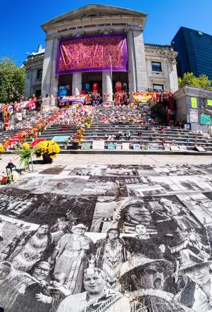 Stolen Generations, Vancouver Art Gallery, Robson Square, Vancouver, British Columbia, Canada copy