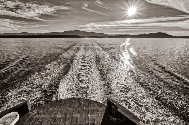Leaving, BC Ferries, Horseshoe Bay to Nanaimo, The Strait of Georgia, British Columbia, Canada