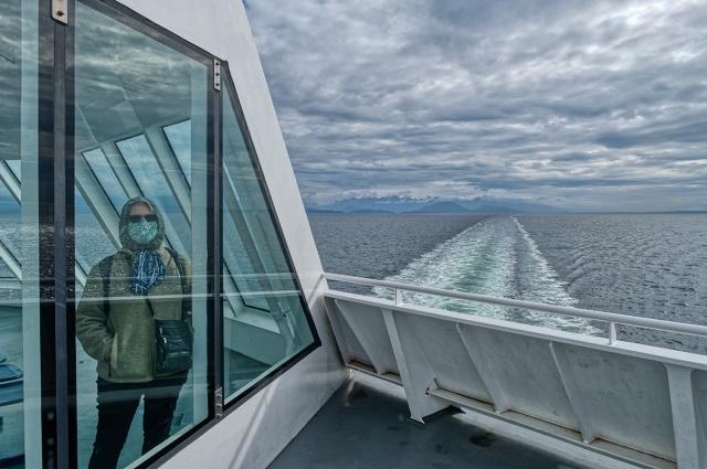Memories Under Glass, BC Ferries, Horseshoe Bay to Nanaimo, Strait of Georgia Ferry, British Columbia, Canada